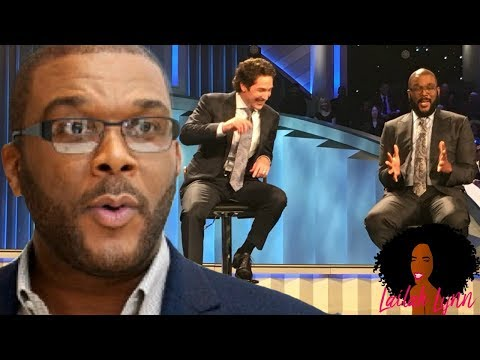 Tyler Perry PREACHES At Lakewood Church & Receives Mixed s!