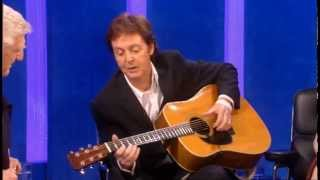 Paul McCartney: Parkinson Show December 2005