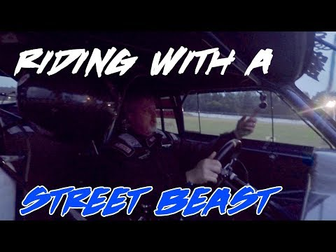 RIDE ALONG WITH STREET OUTLAWS DOC IN A STREET BEAST!!