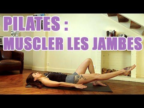 3 exercices de pilates pour affiner et renforcer vos jambes youtube. Black Bedroom Furniture Sets. Home Design Ideas