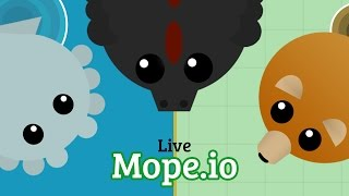 Mope.io Live XXXV: New Ability for Crocodile (Alligator)! | Private Server for Teddy Bear Mod Pack!?