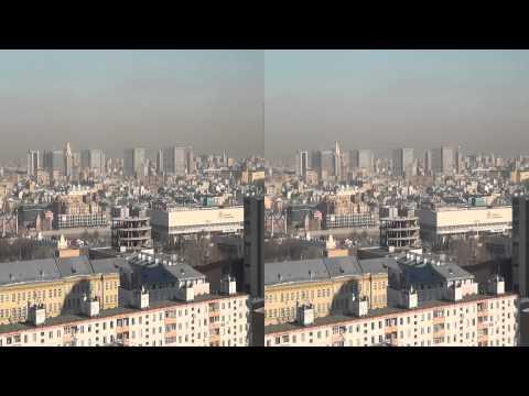 Панорама Москвы 3D. Panorama of Moscow