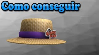 [Event] - How to get - Cheestrings Straw Hat - Roblox