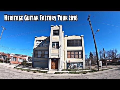 Heritage Guitar Factory Tour 2018