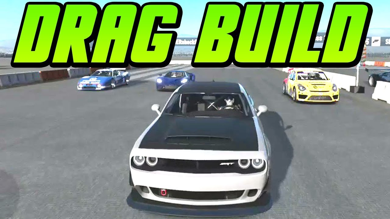 2018 dodge build. fine build forza motorsport 7  fate of the furious 2018 dodge demon drag build   gameplay intended dodge build