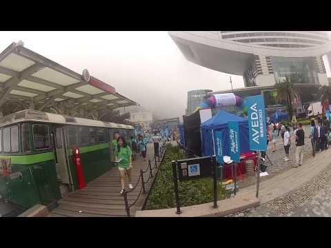 Hong Kong Central to Foggy  Victoria Peak 12 05 2013 part2