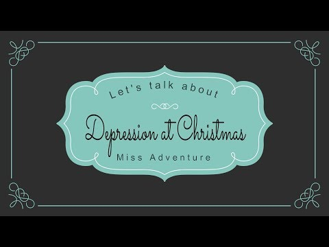 Depression at christmas