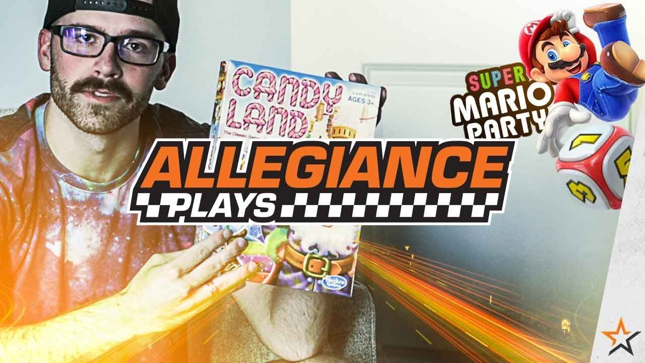 A SUPER MARIO PARTY WITH CANDY LAND AND MARIO PARTY 2!!! (Allegiance Plays)