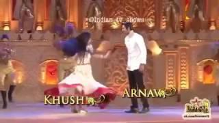 Khushi ve arnav dansı