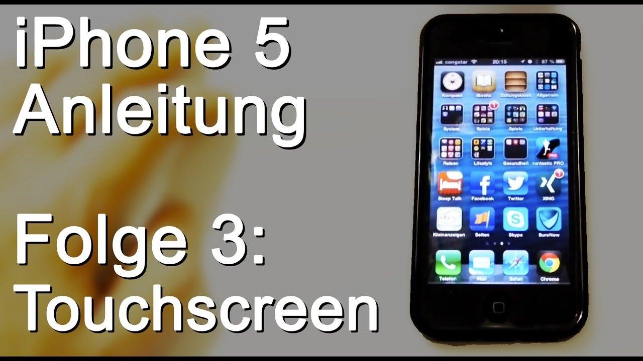 iphone 5 anleitung 03 touchscreen reagiert nicht. Black Bedroom Furniture Sets. Home Design Ideas