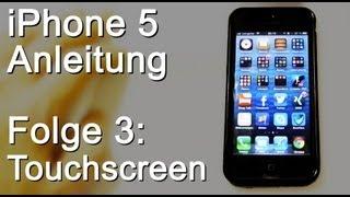 iPhone 5 Anleitung #03: Touchscreen reagiert nicht - iPhone neu starten