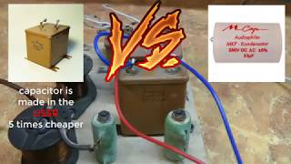 capacitor is made in the USSR MGBO VERSUS capacitor Mundorf