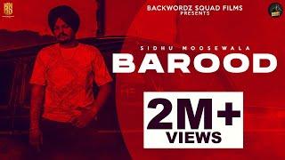 Barood | Sidhu Moosewala | Full Video | BackWordz Squad Films | New Punjabi Song 2020