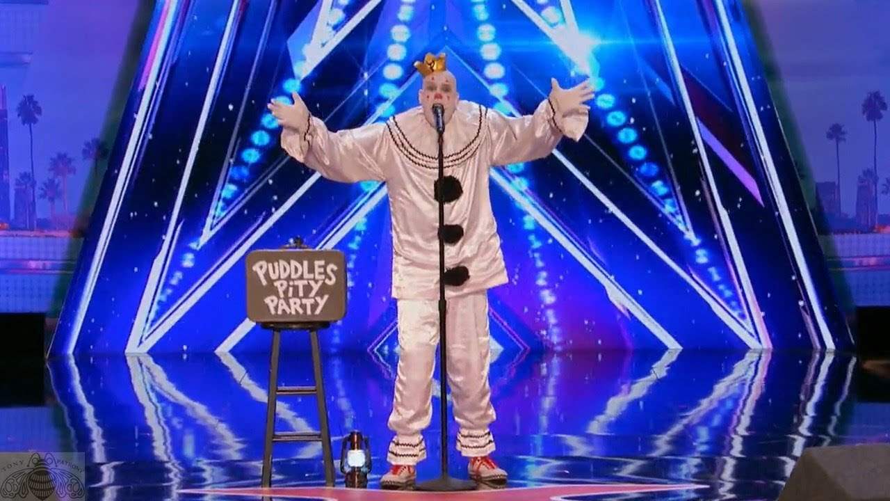 Americas got talent 2017 impersonations - America S Got Talent 2017 Puddles Pity Party From Out Of Nowhere Full Audition S12e01
