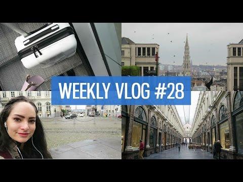 Travel Vlog: Belgium design conference & exploring! | CharliMarieTV