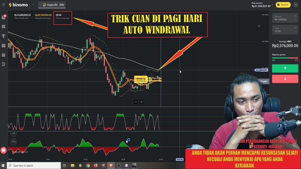 PAKE CARA INI ( TERBUKTI ) !! Rahasia Trik Trading Di Pagi ...