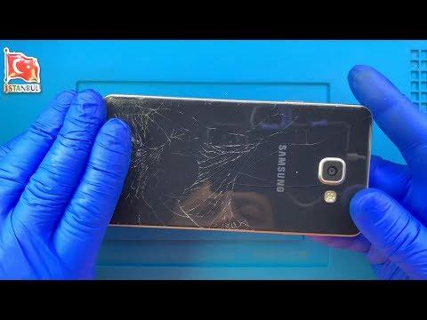 Samsung Galaxy A7 2016 Ekran Arka Cam Kapak Değişimi 🇹🇷