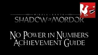 Middle Earth: Shadow of Mordor – No Power in Numbers Guide