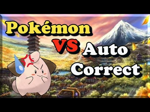 Pokémon VS Auto Correct Gen 2 -Bulba Tube
