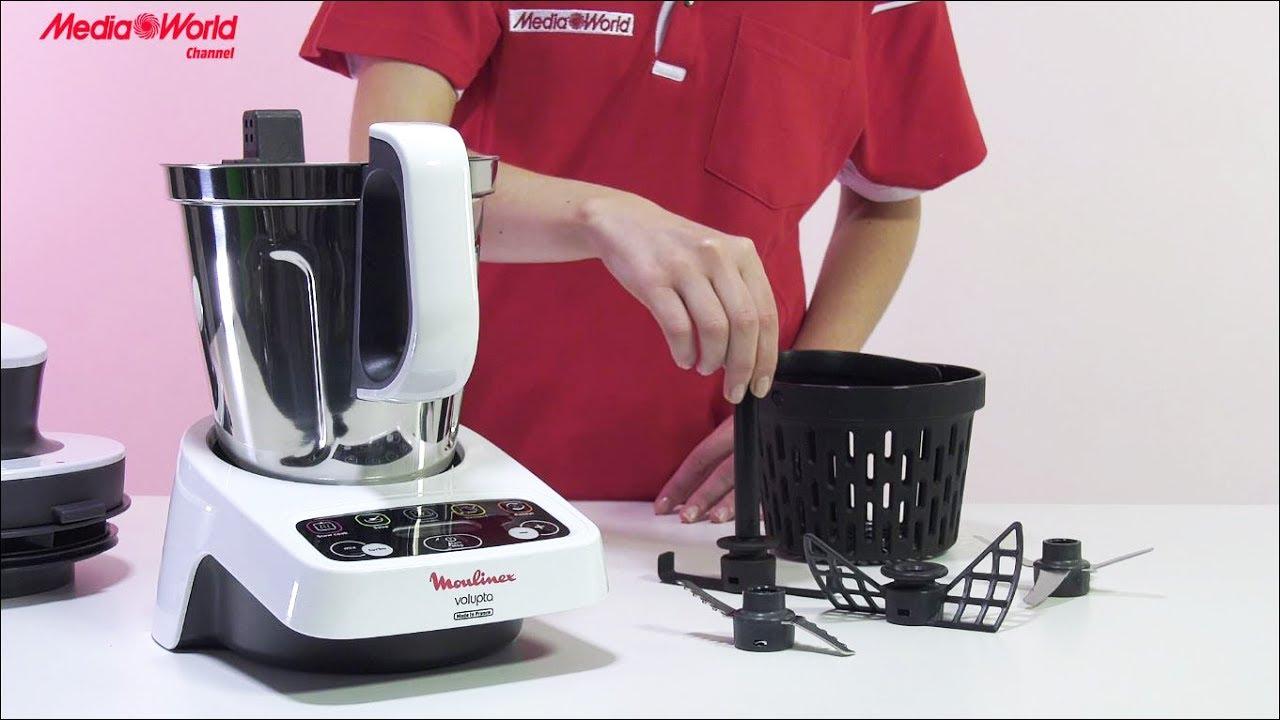 Moulinex Volupta - Recensione Robot da cucina ITA - YouTube