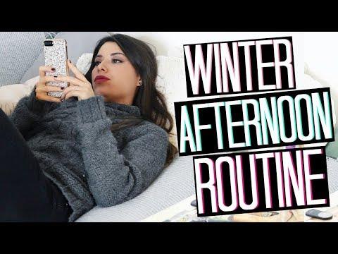 WINTER AFTERNOON ROUTINE || COSA FACCIO IL POMERIGGIO??? | Adriana Spink
