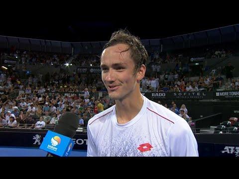 Daniil Medvedev on-court interview (2R) | Brisbane International 2019