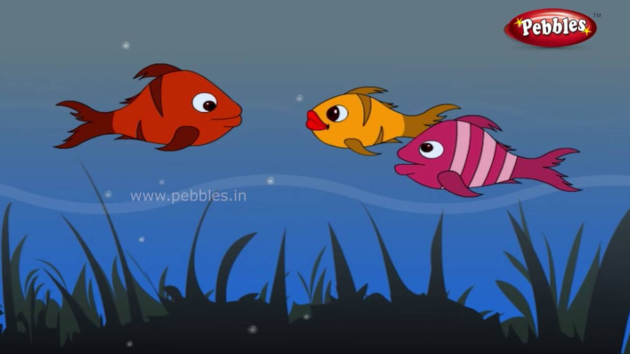 Worksheet. Three Fish Stories in Kannada  Panchatantra Stories for kids