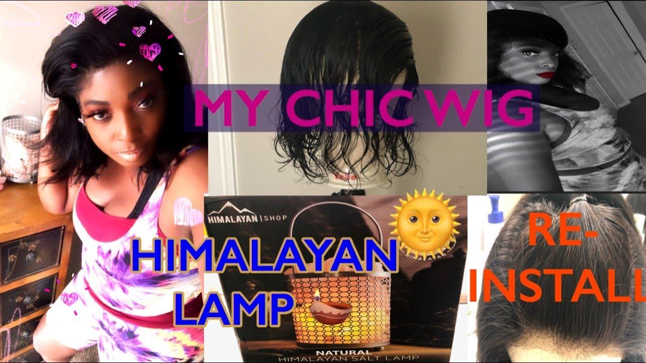 MY CHIC WIG UPDATE | SALT LAMP + TAROT CARD READING ⭕️