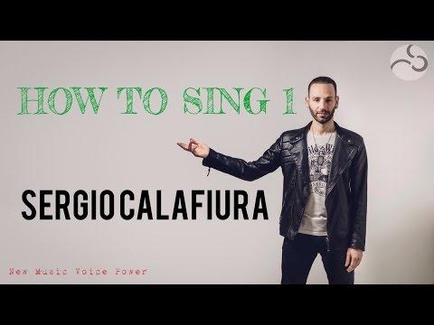 Sergio Calafiura - How to sing 1: Sting, Bono Vox, Freddie Mercury, Plant - Note alte e raschiati