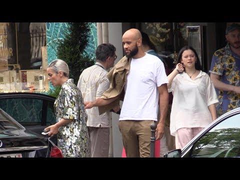 EXCLUSIVE - Lily Allen and boyfriend MC Meridian Dan in Paris Mp3