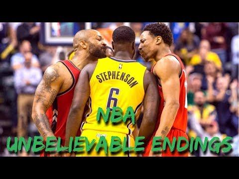 """NBA """"UNBELIEVABLE"""" Endings"""