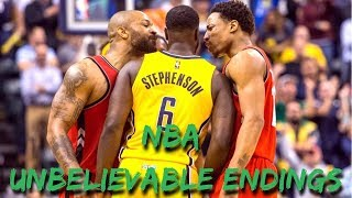 "NBA ""UNBELIEVABLE"" Endings"