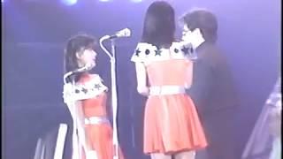 1986年3月23日(名古屋) ネタだとしても1年目のこの時期にすでにお互い意識していたみたいですね。