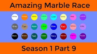 Amazing Marble Race Season 1 Part 9