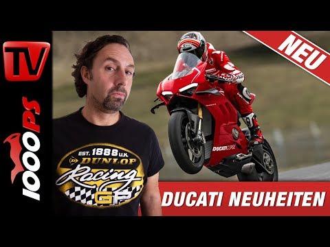 Ducati News 2019 EICMA - Panigale V4 R, Diavel 1260, Hypermotard 950 und Multistrada 950 S