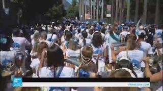 احتفالات تجوب شوارع ريو دي جانيرو قبل انطلاق كرنفالها