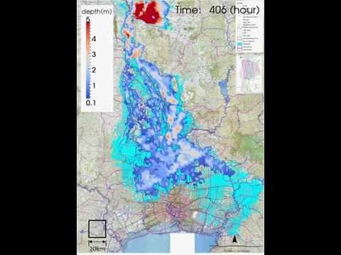 เรดาร์ น้ำท่วมกรุงเทพ 2554 thailand flood