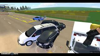 Roblox-Greenville Roleplay N:1 SO MUCH TRAFFIC & CAR CRASH