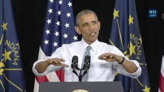 Obama Busts GOP Economic Myths