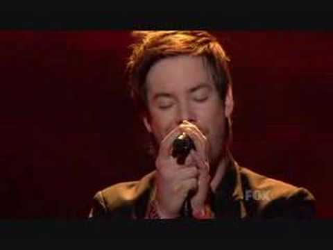 The First Time Ever I Saw Your Face - David Cook [HQ]