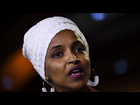 Trump says he disagrees with 'send her back' chants about Somali-born congresswoman Omar