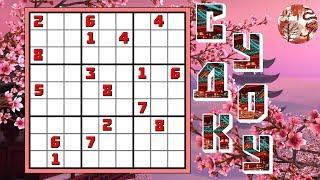 Решение сложных Судоку. Как решать Судоку. Sudoku. Магический квадрат. Судоку № 1.