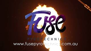 Fuse Pyrotechnics 30 second showreel - Quizmical shoot