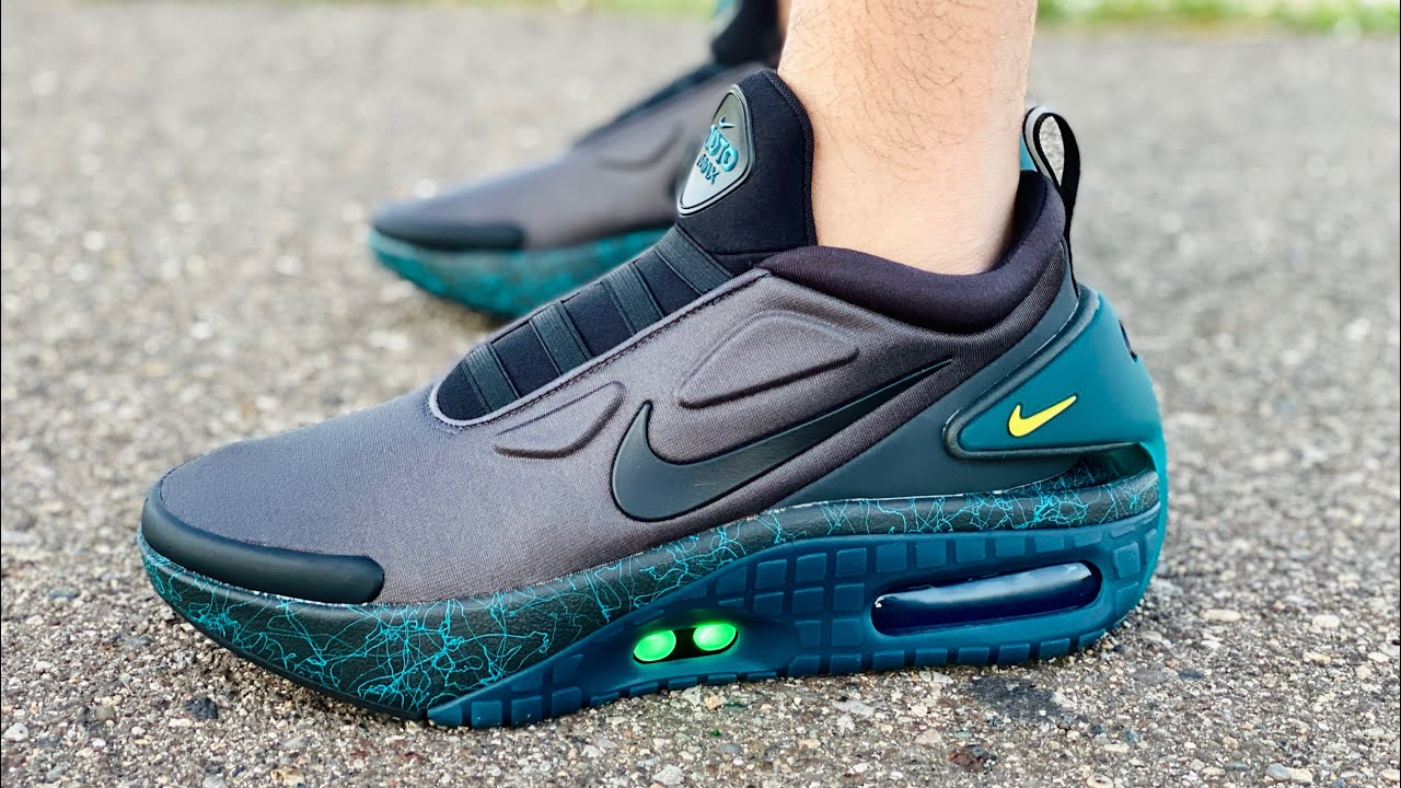 Nike Auto Adapt Max Anthracite Feel The Air 2020 On Feet Review Ft Shubham Saxena Youtube