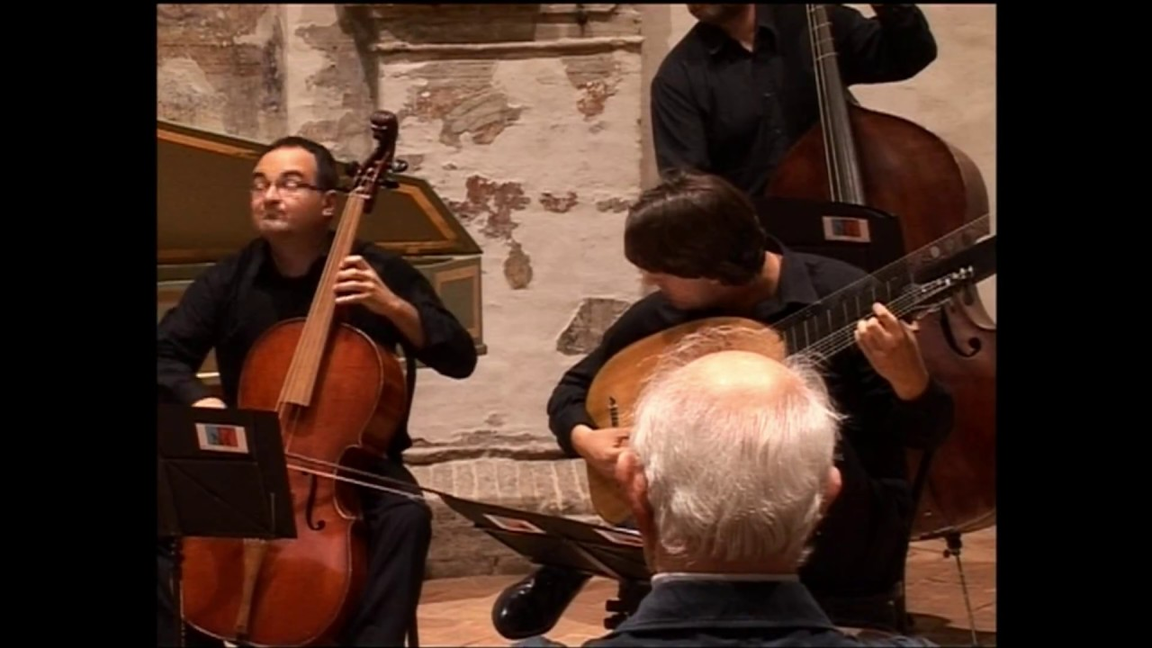 A. Scarlatti Sonata in Re minore per violoncello e basso continuo