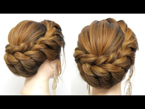 New Hairstyle For Wedding Party. Updo Tutorial thumbnail