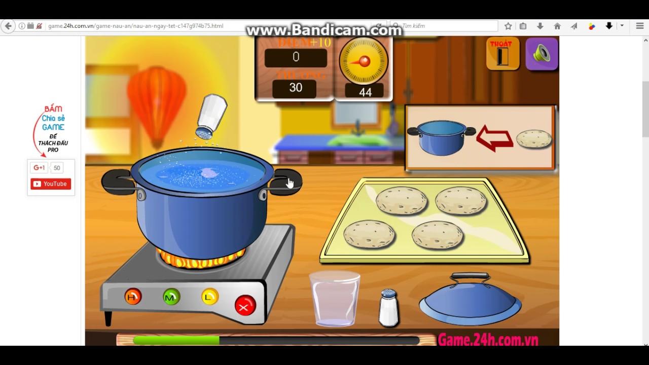 [Game 24h] Review game Nấu ăn ngày Tết