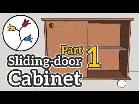 YOU can make a cabinet with sliding doors (part 1 of 2) – DYI furniture project