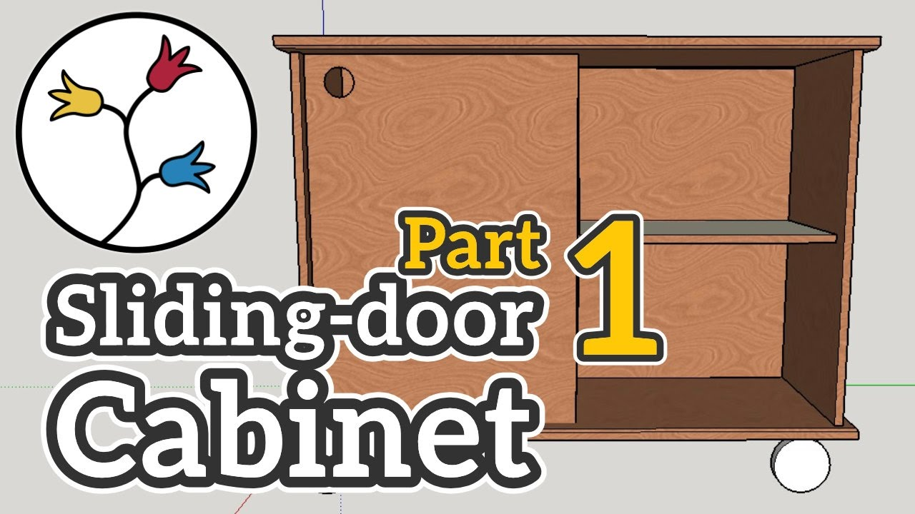 YOU Can Make A Cabinet With Sliding Doors (part 1 Of 2) U2013 DYI Furniture  Project