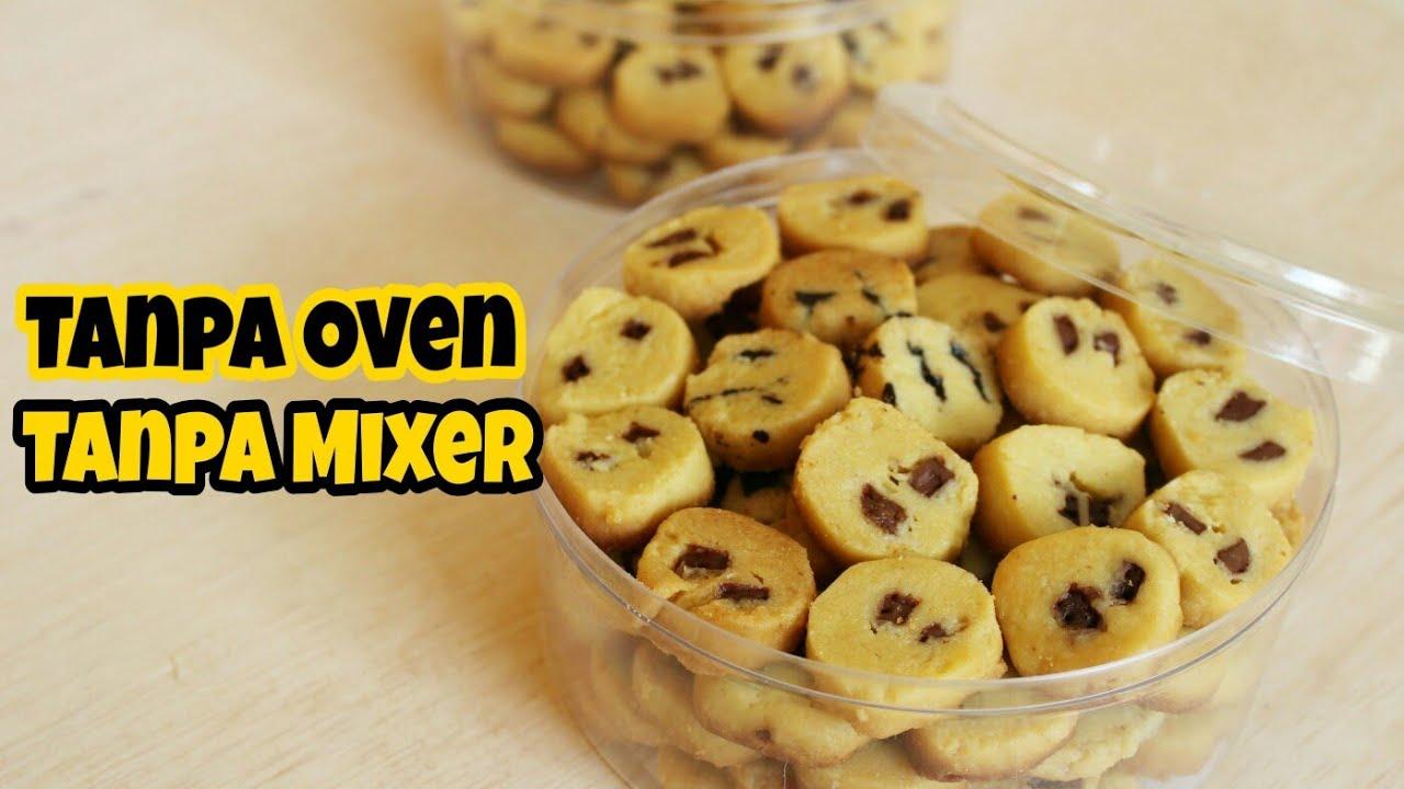 Resep Kue Kering Kulkas Tanpa Oven Tanpa Mixer Youtube Kue Kering Makanan Resep Kue